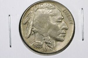 1935 S BUFFALO NICKEL AU