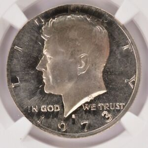 Click now to see the BUY IT NOW Price! NGC 50C 1973 S KENNEDY HALF ON EL SALVADOR 10C PLANCHET PF67