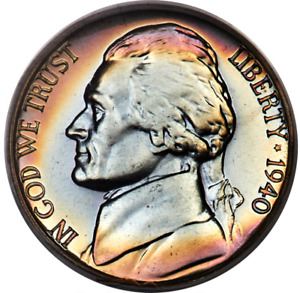 Click now to see the BUY IT NOW Price! 1940 JEFFERSON NICKEL PROOF PCGS PR68 REVERSE OF 1938 CAC TOP POP
