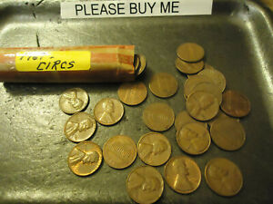 1967 ROLL OF PENNIES          >> USA SELLER <<