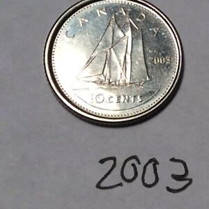 CANADA 2003 10 CENTS CIRCULATED