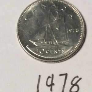 CANADA 1978 10 CENTS CIRCULATED