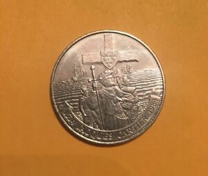 CANADA 1984 DOLLAR COIN 450TH ANNIVERSARY 1ST FRENCH EXPLORER JACQUES CARTIER.