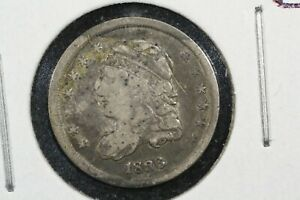 1836 CAPPED BUST HALF DIME VG