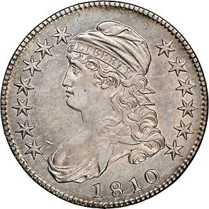 SPECIAL VALUE PRICING   1810 CAPPED BUST HALF DOLLAR   NGC AU DETAILS