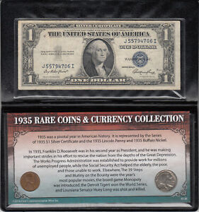 1935  U.S. COINS & CURRENCY COLLECTION
