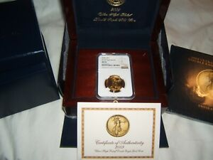 Click now to see the BUY IT NOW Price! 2009 $20 ULTRA HIGH RELIEF UHR GOLD NGC MS70 WITH US MINT BOX COA AND BOOK
