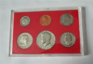US MINT PROOF SET   '1981 S'   WITH SLEEVE & HOLDER   6 COINS WITH SUSAN B.