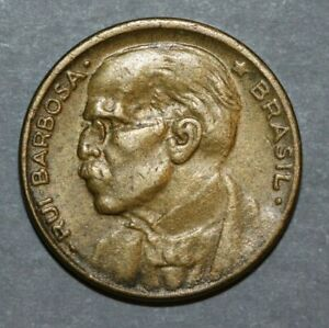 BRAZIL 1951 20 CENTAVOS RUI BARBOSA  19.25MM FOREIGN COIN