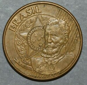 BRAZIL 2004  25 CENTAVOS  DEODORO  25MM FOREIGN COIN