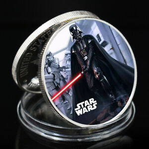 ART CRAFT GIFT STAR WAR SLIVER COLLECTIBLE COMMEMORATIVE CHALLENGE COIN