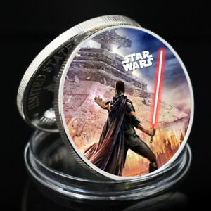 VALENTINE'S DAY GIFT STAR WAR SLIVER COLLECTIBLE COMMEMORATIVE CHALLENGE COIN