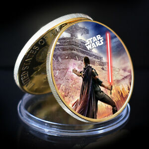 ART ORNAMENT STAR WAR GOLD COLLECTIBLE COMMEMORATIVE COIN HOLIDAY GIFT