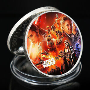 CHALLENGE COIN STAR WAR SLIVER COLLECTIBLE COMMEMORATIVE COIN ART ORNAMENT