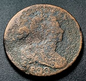1800/798 DRAPED BUST LARGE CENT 1C  OVERDATE ERROR TYPE COIN LOWBALL NR