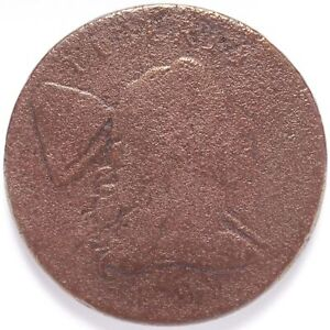 1794 LARGE CENT LIBERTY CAP HEAD OF 1794