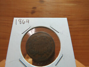 1864 2C TWO CENTS X5