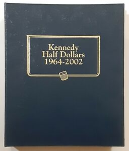 Click now to see the BUY IT NOW Price! 1964 2002 KENNEDY HALF DOLLARS 107 COINS COMPLETE SET WHITMAN CLASSIC ALBUM