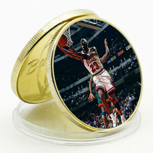 ART CRAFT GIFT JORDAN COMMEMORATIVE LUCKY GOLD PLATED METAL COIN CHALLENGE COIN