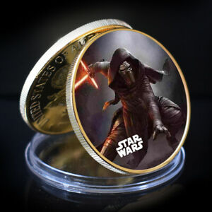ART ORNAMENT STAR WAR GOLD COLLECTIBLE COMMEMORATIVE COIN BUSINESS GIFT