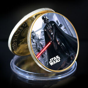ART ORNAMENT STAR WAR GOLD COLLECTIBLE COMMEMORATIVE CHALLENGE COIN