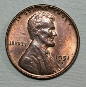 1951 D LINCOLN CENT