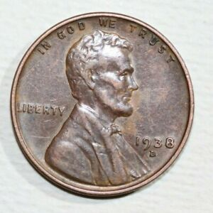 1938 D LINCOLN CENT