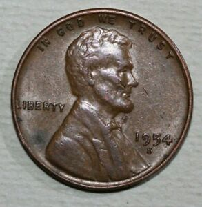 1954 S LINCOLN CENT