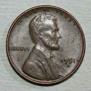 1951 S LINCOLN CENT