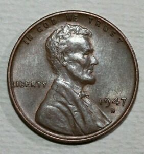 1947 S LINCOLN CENT