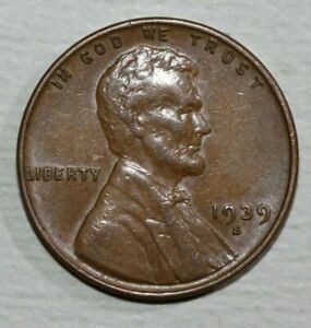 1939 S LINCOLN CENT
