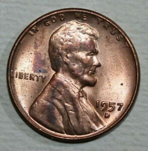 1957 D LINCOLN CENT