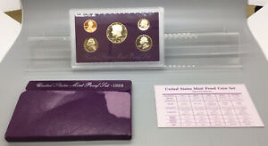 1989 S UNITED STATES PROOF SET WITH BOX