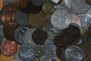 WEEDA RANDOM 1 POUND LOT OF WORLDWIDE COINS FROM LARGE SELECTION