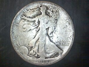1918 WALKING LIBERTY SILVER HALF DOLLAR G