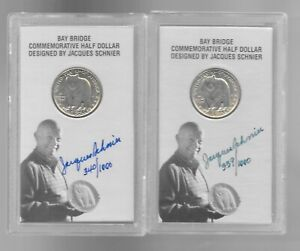 Click now to see the BUY IT NOW Price! 1/1000 SUPERB 1936 BAY BRIDGE COMMEMORATIVE 1/2 DOL.IN OFFICIAL REISSUE HOLDER