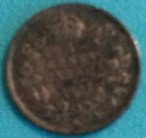 1907 CANADA SILVER 5 CENTS   AUTHENTIC CIRC EXAMPLE SLIGHTLY DARK