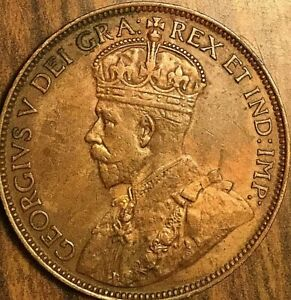 1913 CANADA LARGE CENT PENNY COIN   NICER EXAMPLE