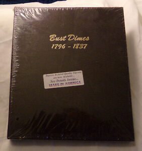 DANSCO ALBUM  BRAND NEW IN PLASTIC BUST DIMES 1796 1837 LOT 7601