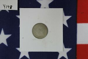 1860 O SEATED LIBERTY HALF DIME   ABOUT GOOD CONDITION  Y148
