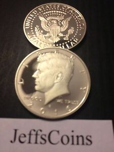 2015 & 2016 S KENNEDY HALF DOLLARS CLAD PROOF EARLY STRIKE PRESIDENT CAMEO BEST2