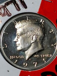 Click now to see the BUY IT NOW Price! 1971 S KENNEDY DDO HALF DOLLAR  PROOF