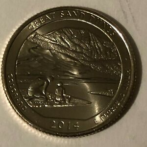 WASHINGTON QUARTER ATB 2014 P UNC CO GREAT SAND DUNES FROM MINT ROLL
