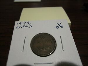 1942 NFLD   CANADA 1 CENT   CANADIAN PENNY