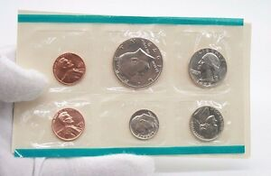 Click now to see the BUY IT NOW Price! 1972 6 COIN US MINT SET HALF DOLLAR QUARTER DIME NICKEL  2 LINCOLN CENT ONE