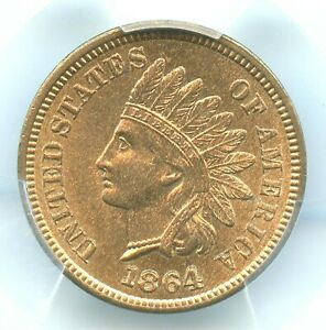 Click now to see the BUY IT NOW Price! 1864 L ON RIBBON INDIAN HEAD CENT PCGS MS65 RD CAC APPROVED REGISTRY COIN