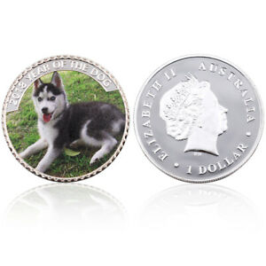 2018 YEAR OF THE DOG COMMEMORATIVE COINS FESTIVAL VALENTINE'S DAY GIFT