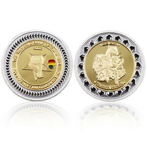 ZIMBABWE COMMEMORATIVE GOLD COIN CHALLENGE COIN HOLIDAY GIFT BIRTHDAY GIFT