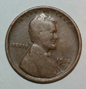 1914    LINCOLN CENT