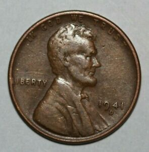 1941 D LINCOLN CENT